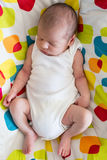 Cute newborn baby boy Royalty Free Stock Photo