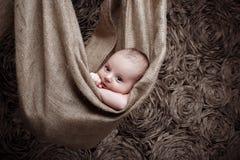 Cute newborn baby Royalty Free Stock Photo