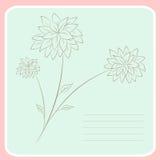 Cute notebook vector print Royalty Free Stock Photos