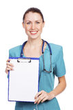 Cute nurse Stock Photography