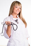 Cute nurse portrait Royalty Free Stock Image