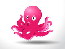 Cute octopus Royalty Free Stock Image