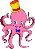 Cute octopus cartoon Royalty Free Stock Photography