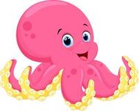Cute octopus cartoon Royalty Free Stock Photography