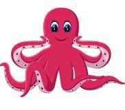 Cute octopus cartoon Royalty Free Stock Photo