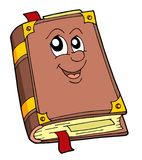 Cute old book. Vector illustration Royalty Free Stock Photos
