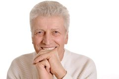 Cute older man Royalty Free Stock Images