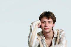 Cute older teen boy Royalty Free Stock Image