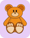 Cute Orange Bear Royalty Free Stock Photo