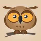 Cute  Owl Royalty Free Stock Image