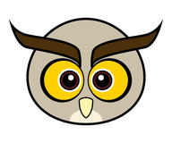 Cute Owl Vector. Cute animal faces in  (One of 25 of them Royalty Free Stock Photos