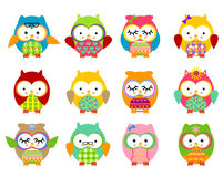 Free Cute Owls Stock Images - 43198844