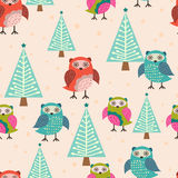 Cute owls Royalty Free Stock Photography