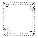 A cute page border/ frame Stock Images
