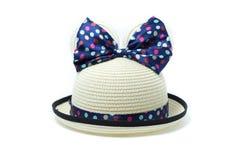 Cute panama hat Royalty Free Stock Images