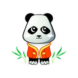 Cute panda Stock Image