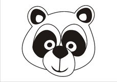 Cute Panda bear Stock Photo