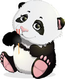 Cute Panda bear illustrations Royalty Free Stock Photography