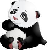 Cute Panda bear illustrations Royalty Free Stock Images