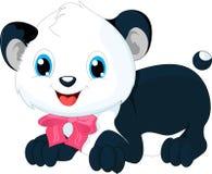 Cute panda cartoon Stock Photos