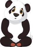 Cute panda cartoon Stock Photography