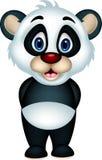 Cute panda cartoon posing Royalty Free Stock Photo