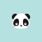 Cute panda face Royalty Free Stock Photos