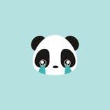 Cute panda face Royalty Free Stock Photography