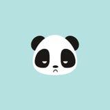 Cute panda face Stock Photos