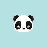 Cute panda face Stock Photo