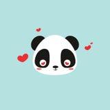 Cute panda face Royalty Free Stock Photo