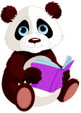 Cute Panda. Is reading a book. Education Royalty Free Stock Photography