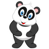 Cute panda smile of vector Royalty Free Stock Photography