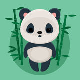 Cute panda Royalty Free Stock Image