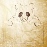 Cute panda. Royalty Free Stock Photo