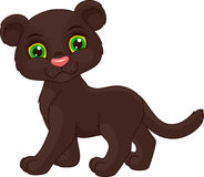 Cute panther Royalty Free Stock Images