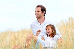 Cute parent and child Royalty Free Stock Photography