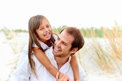 Cute parent and child Stock Photo
