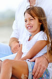 Cute parent and child Stock Photography