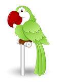 Cute Parrot. Creative Abstract Conceptual Design Art of Cute Parrot Vector Illustration Stock Image