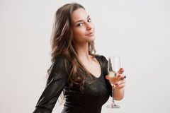 Cute party girl. Stock Photo