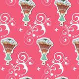 Cute pattern Stock Image