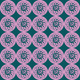 Cute pattern. Cute seamless pattern in light colors Royalty Free Stock Image