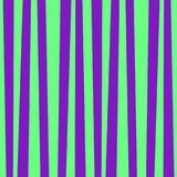Cute pattern banner with green and violet vertical stripes. Vintage retro stripes design. Creative vertical banner. Vector illustration for design, banner Stock Photos