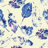 Cute pattern of beautiful prints of leaves Stock Photo