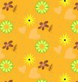 Cute pattern geometric yellow. Cute pattern seamless geometric pattern yellow Stock Photo