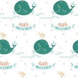 Cute pattern for kids, girls and boys. Vector illustration. Seamless pattern. royalty free illustration