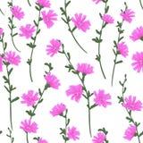 Cute pattern in small flower stock illustration