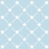 Cute pattern with stars Royalty Free Stock Image