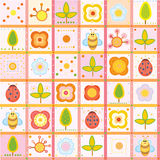Cute pattern for your design. Royalty Free Stock Photos